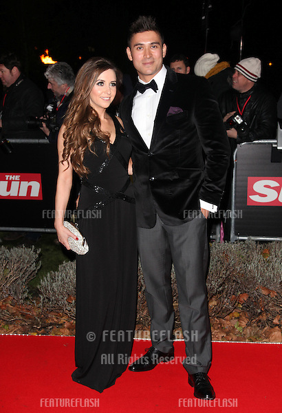 Rav Wilding arriving for The Sun Military Awards, at The Imperial War Museum, London. 06/12/2012 Picture by: Alexandra Glen / Featureflash