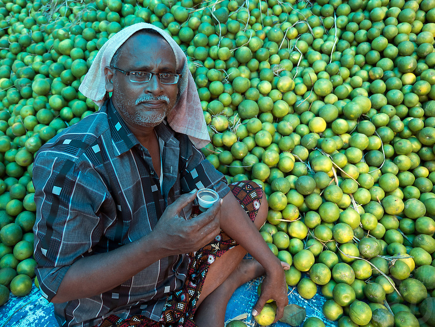 Whole Sale Fruit Market, Kolkata, West bengal, India