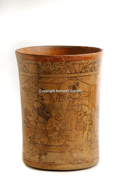 Maya rise and Fall; Princeton Museum;  Ancient Cultures; Maya; Mayan; ; Princeton Vase; Cacao