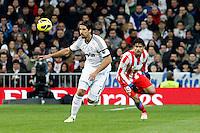 Sami Khedira and Diego Costa during La Liga Match. December 01, 2012. (ALTERPHOTOS/Caro Marin)