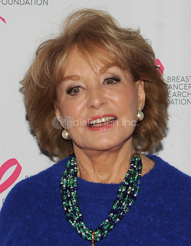 New York, NY- October 9:Barbara Walters attends the 2014 Breast Cancer Research Foundation awards luncheon honoring Barbara Walters  at the Waldorf-Astoria on October 9, 2014 in New York City. Credit: John Palmer/MediaPunch