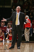 STANFORD, CA - JANUARY 9:  Ben Howland during Stanford's 70-59 win over the UCLA Bruins on January 9, 2009 at Maples Pavilion in Stanford, California.