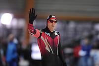 SCHAATSEN: ERFURT: Gunda Niemann Stirnemann Eishalle, 21-03-2015, ISU World Cup Final 2014/2015, Nico Ihle (GER), ©foto Martin de Jong
