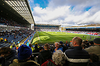 Preston North End fans take their seats for the second half<br /> <br /> Photographer Alex Dodd/CameraSport<br /> <br /> The EFL Sky Bet Championship - Blackburn Rovers v Preston North End - Saturday 9th March 2019 - Ewood Park - Blackburn<br /> <br /> World Copyright © 2019 CameraSport. All rights reserved. 43 Linden Ave. Countesthorpe. Leicester. England. LE8 5PG - Tel: +44 (0) 116 277 4147 - admin@camerasport.com - www.camerasport.com