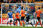 St Johnstone v Dundee United...26.09.15  SPFL   McDiarmid Park, Perth<br /> Graham Cummins scores to make it 1-1<br /> Picture by Graeme Hart.<br /> Copyright Perthshire Picture Agency<br /> Tel: 01738 623350  Mobile: 07990 594431