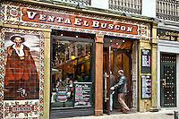 Tapas restaurant, El Buscon, Madrid, Spain