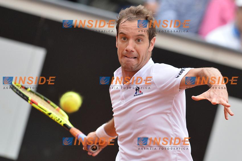 Richard Gasquet (FRA)<br /> Roma 11-05-2016  Foro Italico<br /> Internazionali BNL d'Italia, <br /> Tennis ATP<br /> Foto Antonietta Baldassarre / Insidefoto