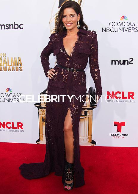 PASADENA, CA, USA - OCTOBER 10: Adriana Fonseca arrives at the 2014 NCLR ALMA Awards held at the Pasadena Civic Auditorium on October 10, 2014 in Pasadena, California, United States. (Photo by Celebrity Monitor)