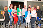 Birthday Bash: Elaine Breen, Listowel celebrating her birthday with friends on Suibday last at the Kingdom Bar, Listowel. L - R: Emma O'Neill, Mary sheehan, Megan Galvin, Gillian Hennerbery, Tom Deenihan, Elaine Breen, Sean Lyons, Mary Walsh, Mtho & Laura Gumbo.