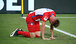 Marc Schnatterer (1. FC Heidenheim)<br /> <br /> Deutschland, Heidenheim, 06.07.2020, Fussball, Bundesliga, Saison 2019/2020, Relegation, 1. FC Heidenheim - SV Werder Bremen :nphgm001: 06.07.2020<br /> <br /> DFL/DFB REGULATIONS PROHIBIT ANY USE OF PHOTOGRAPHS AS IMAGE AND/OR QUASI-VIDEO<br /> <br /> Foto: Pressefoto Rudel/Robin Rudel/Pool/gumzmedia/nordphoto