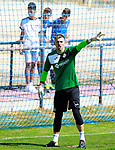 Getafe's Vicente Guaita during training session. September 12,2017.(ALTERPHOTOS/Acero)