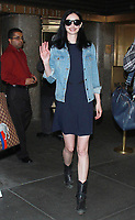 NEW YORK, NY - NOVEMBER 7: Krysten Ritter seen after an appearance on New York Live in New York City on November 7, 2017. Credit: RW/MediaPunch