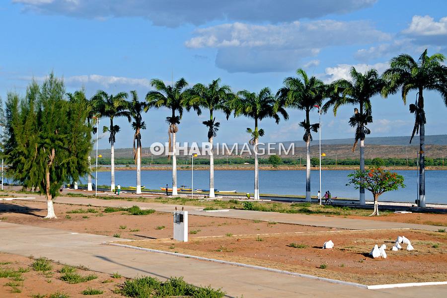 Lago da barragem Itaparica, Rio São Francisco. Nova Petrolândia. Pernambuco. 2009. Foto de Zig Koch.