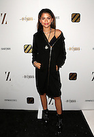 Los Angeles, CA - NOVEMBER 05: Zendaya, Zendaya Coleman at The Daya By Zendaya Pop-up Shop in Los Angeles At Known Gallery, California on November 05, 2016. Credit: Faye Sadou/MediaPunch