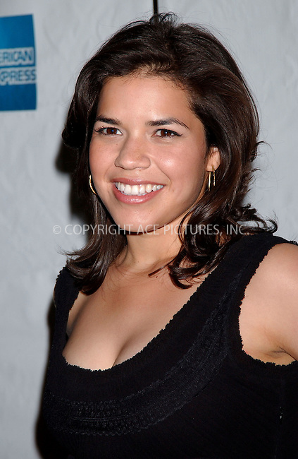 WWW.ACEPIXS.COM . . . . .....May 4, 2007. New York City.....Actress America Ferrera arrives at the Tribeca Film Festival Premiere of 'Towards Darkness' at the AMC Village 7 theater...  ....Please byline: Kristin Callahan - ACEPIXS.COM..... *** ***..Ace Pictures, Inc:  ..Philip Vaughan (646) 769 0430..e-mail: info@acepixs.com..web: http://www.acepixs.com