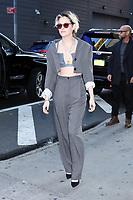 NEW YORK, NY- November 06: Kristen Stewart at Good Morning America promoting Charlie's Angels on November 06, 2019 in New York. City. Credit: RW/MediaPunch