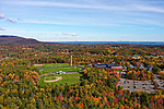 Aerial view of CHRHS, Camde, Maine