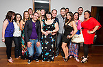 Emma Beggy, front/centre, celebrates with friends at her going away party, as she leaves for Australia..Picture: Shane Maguire / www.newsfile.ie.