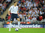 Rio Ferdinand of England during the Friendly International match at Wembley Stadium, London. Picture date 28th May 2008. Picture credit should read: Simon Bellis/Sportimage