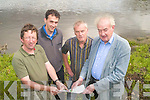 Preparing plans for Reenagross Park in Kenmare are Chairperson of Kenmare Tidy Towns Noel Crowley, Cllr Patrick Connor Scarteen, Kenmare Chamber Representative Nick Ryan and Michael Connor Scarteen