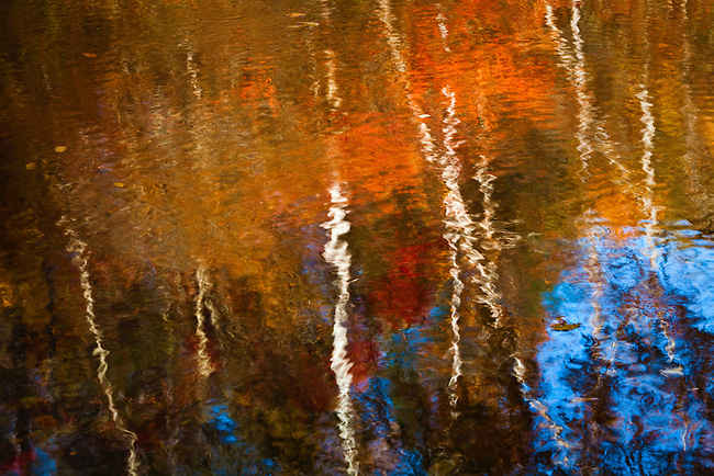 Autumn reflections, Great Smoky Mountains National Park