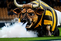 The Bull during the Mitre 10 Cup Ranfurly Shield Rugby Match between Taranaki and Manawatu at Yarrow Stadium, New Plymouth, Auckland,  New Zealand. Wednesday 11th October 2017. Photo: Simon Watts / www.bwmedia.co.nz