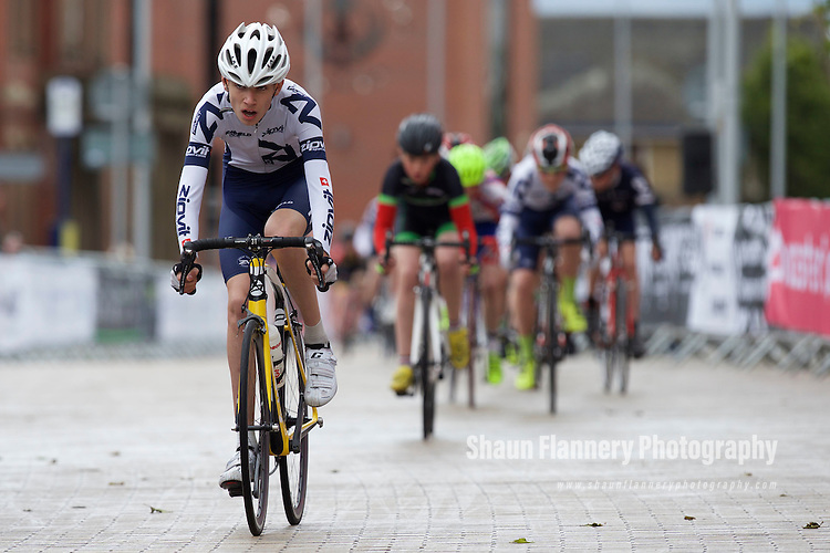 Pix: Shaun Flannery/shaunflanneryphotography.com<br /> <br /> COPYRIGHT PICTURE&gt;&gt;SHAUN FLANNERY&gt;01302-570814&gt;&gt;07778315553&gt;&gt;<br /> <br /> 31st May 2015<br /> Doncaster Cycle Festival 2015<br /> Under 16s/Under 14s Girls and Under 14s Boys <br /> Sponsored by The Orthodontic Centre