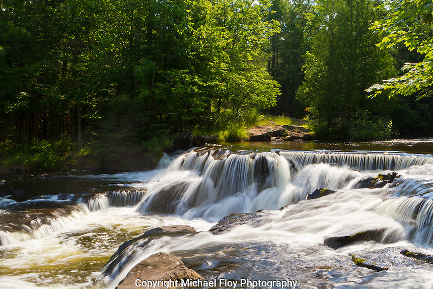Bond Falls, Ontonagon River, Upper Peninsula, Michigan