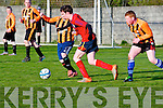 Luke Kelly (Bayview Rovers) in action with Eoin Daly (CSKA-Tralee) on Friday evening at Mounthawk Park, Tralee.Philip Martin (Bayview-Tralee) in action with Eoin Daly (CSKA-Tralee), at Mounthawk Park, Tralee on FRiday evening.Chris Foley (CSKA-Tralee) in action with Luk Kelly(Bayview Rovers) on Friday evening at Mounthawk Park, Tralee.