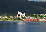 The Arctic Cathedral, Tromso, Norway architect Jan Inge Hovig completed 1965