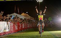 Belgian Champion Sven Nys (BEL/Crelan-AAdrinks) wins his 2nd (consecutive) Cross Vegas title<br /> <br /> Cross Vegas 2014