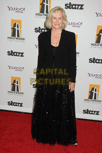 Glenn Close.15th Annual Hollywood Film Awards Gala held at the Beverly Hilton Hotel, Los Angeles, California, USA..24 October 2011.full length dress blazer black   .CAP/ADM/BP.©Byron Purvis/AdMedia/Capital Pictures.