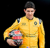 March 17, 2016: Esteban Ocon from the Renault Sport F1 team at the drivers' portrait session prior to the 2016 Australian Formula One Grand Prix at Albert Park, Melbourne, Australia. Photo Sydney Low