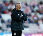Chris Wilder manager of Sheffield Utd during the Championship match at the Stadium of Light, Sunderland. Picture date 9th September 2017. Picture credit should read: Simon Bellis/Sportimage