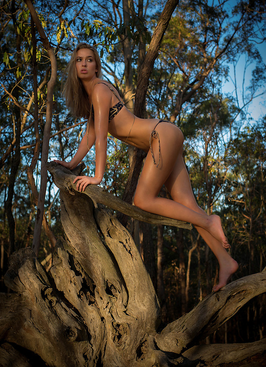 Anja from Mystique Model Management Photoshoot in Whites Hill Reserve, Brisbane, Queensland, Australia, Friday, March 18, 2016.<br /> Photo - @John Pryke Photographer<br /> Styling - Sandra Carvalho stylist<br /> MUA - @Danielle Rusko Makeup Artist Credits for Urban Jungle photoshoot <br />