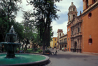 The Plaza San Francisco in the city of San Luis Potosi, Mexico