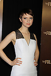 """Valorie Curry stars in """"The Following"""", Fox's new tv series on Mondays, which held its world premiere on January 19, 2013 at the New York Public Library, New York City, New York. (Photo by Sue Coflin/Max Photos)"""