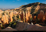 Fairyland Canyon and Boat Mesa at Sunset, Bryce Canyon National Park, Utah