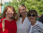 Joyce Trombley, Carlee Ferrari and Morgan Martin during the Pops on the River fundraiser at Wingfield Park in Reno on  Saturday, July 9, 2016.