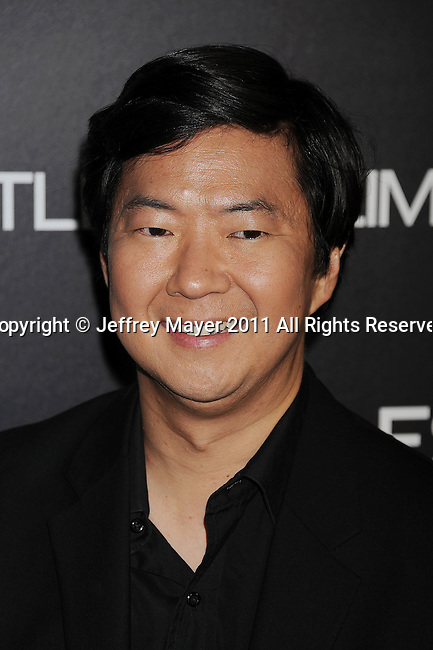 "HOLLYWOOD, CA - MARCH 03: Ken Jeong attends the Los Angeles special screening of ""Limitless"" at ArcLight Cinemas Cinerama Dome on March 3, 2011 in Hollywood, California."