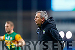 Kerry Manager Peter Keane before the Allianz Football League Division 1 Round 1 match between Dublin and Kerry at Croke Park on Saturday.