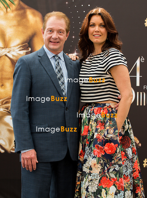 """Jeff Perry, Young Bellamy from the series """"Scandal"""" attend photocall at the Grimaldi Forum on June 9, 2014 in Monte-Carlo, Monaco."""