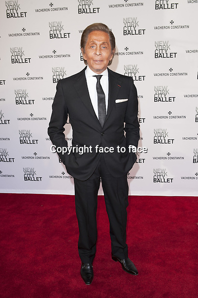 NEW YORK, NY - MAY 8: Valentino attends New York City Ballet's Spring 2013 Gala at David H. Koch Theater, Lincoln Center on May 8, 2013 in New York City...Credit: MediaPunch/face to face..- Germany, Austria, Switzerland, Eastern Europe, Australia, UK, USA, Taiwan, Singapore, China, Malaysia, Thailand, Sweden, Estonia, Latvia and Lithuania rights only -