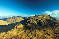 Beinn Narnain and Ben Vane from The Cobbler North Peak, the Arrochar Alps, Loch Lomond and the Trossachs National Park, Argyll & Bute