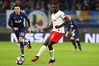 Dayot Upamecano of RB Leipzig and Dele Alli of Tottenham Hotspur during RB Leipzig vs Tottenham Hotspur, UEFA Champions League Football at the Red Bull Arena on 10th March 2020