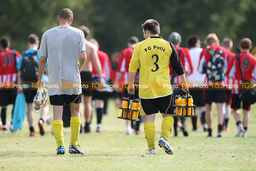Players return to the changing rooms - Hackney & Leyton Sunday League Football at South Marsh, Hackney Marshes, London - 25/09/11 - MANDATORY CREDIT: Gavin Ellis/TGSPHOTO - Self billing applies where appropriate - 0845 094 6026 - contact@tgsphoto.co.uk - NO UNPAID USE.