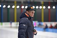 SPEEDSKATING: 09-12-2018, Tomaszów Mazowiecki (POL), ISU World Cup Arena Lodowa, Jillert Anema (coach NED), ©photo Martin de Jong