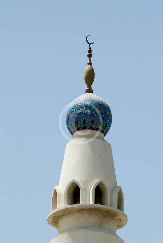 United Arab Emirates, Dubai, Minaret, Iranian Mosque