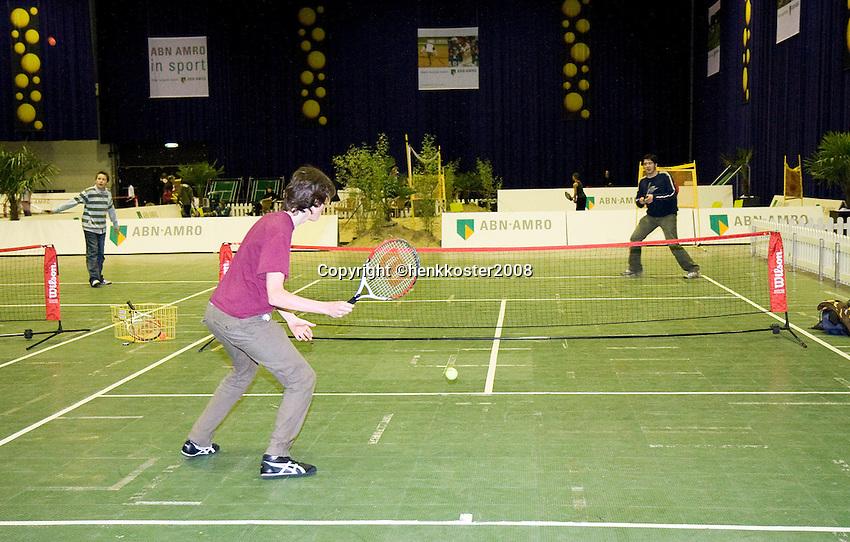 22-2-08, Netherlands, Rotterdam,  ABNAMROWTT 2008, Sportplaza