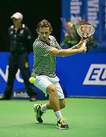 17-12-13,Netherlands, Rotterdam,  Topsportcentrum, Tennis Masters, ,   Wesley Koolhof   <br /> Photo: Henk Koster